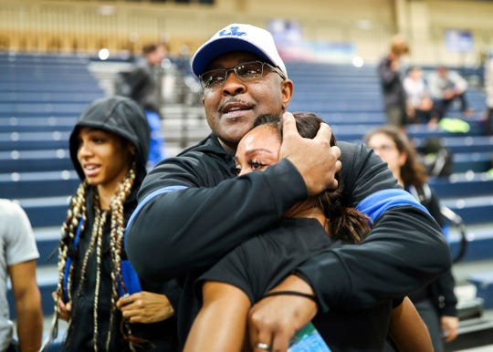 Track and cross country coach Lonnie Greene is the only Black head coach at the University of Kentucky.