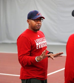 Louisville women's tennis coach Mark Beckham is the lone Black head coach at Louisville and one of just 79 in Power 5 conferences.