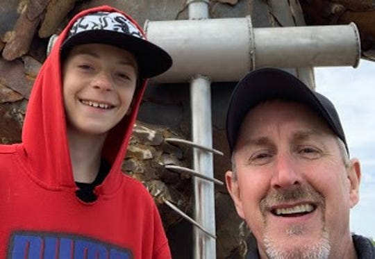 Big Brother Chris Schnell and his Little Brother Jordan have been honored as the JulyMatch of the Month by Big Brothers Big Sisters of Manitowoc County.
