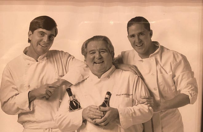 A photo from the 1990s of Alex Grisanti, Ronnie Grisanti and Judd Grisanti. (pictured left to right)