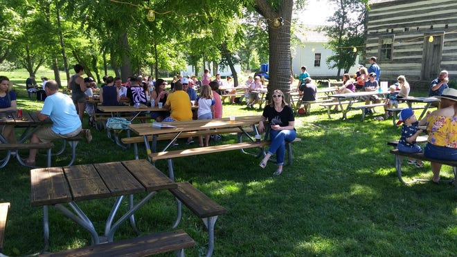 There will be a beer garden at Menomonee Falls' Old Falls Village every Saturday beginning  July 11 through October 3 from 3 p.m. – 9 p.m. There will be live music, food, and activities for children.
