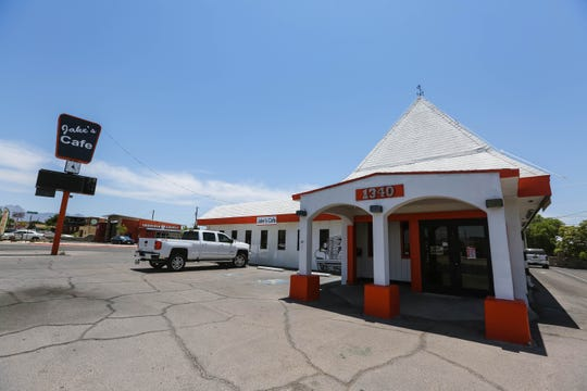 Jake's Cafe is pictured in Las Cruces on Thursday, June 25, 2020.