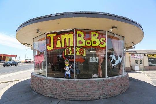 Jim Bob's BBQ is pictured in Las Cruces on Thursday, June 25, 2020.