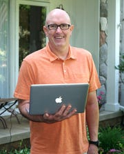 Brian Howe has taught at Lakeland High for more than 20 years. He teaches social studies and is trying to get used to teaching via computer during the pandemic.