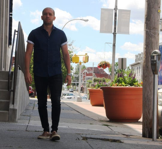 """Amaury Abreu, 24, moved to Lebanon from the Dominican Republic 5 years ago. Abreu is heavily involved with the community, from social activism to creating his own clothing line to the SARCC and Chamber of Commerce and more. """"It's not about me,"""" he said. """"I don't have an agenda. If I do, it's to serve as many people as I can with the time I have."""""""