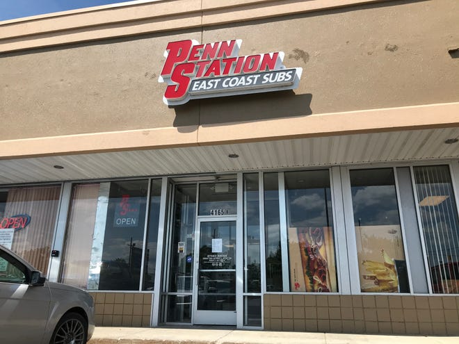 Penn Station East Coast Subs at 4165 24th Ave. in Fort Gratiot Township has permanently closed.