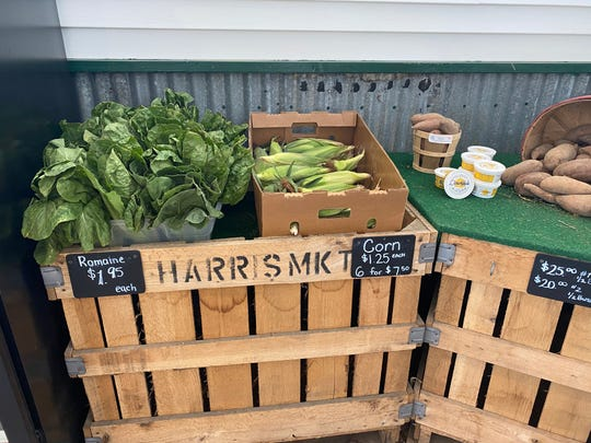 The price of corn has spiked at produce stands such as Harris Market in Salisbury and stores across the Eastern Shore. Prices are expected to drop in early July.