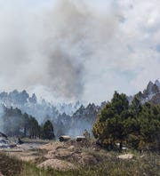 A fire in Custer State Park in South Dakota reached 150 acres as of Wednesday night.