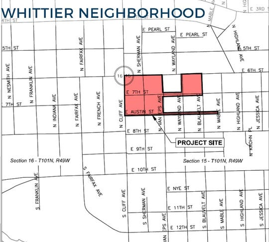 The Sioux Falls Power and Light Division will move power lines underground in a five block area of Whittier Neighborhood starting in August.