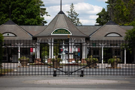 The Saratoga Race Course, in Saratoga Springs, is expected to remain closed to spectators throughout the 2020 season, which begins on July 16 this year.