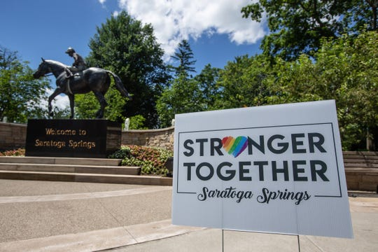 Saratoga Springs, like many places across New York state, is grappling with the challenges of reopening after the novel coronavirus prompted a state-wide shutdown and claimed the lives of nearly 25,000 New Yorkers.