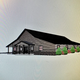 A rendering of The Ranch building at the new wedding and event venue The Outpost Ranch, which will open on former Clancy's Driving Range property.