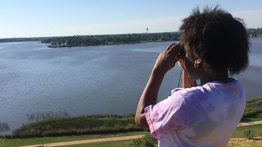 Chelsea Connor of Midwestern State University received national attention recently with a campaign to increase the visibility of Black people who are birders and the challenges faced by Black people engaging in outdoor activities.