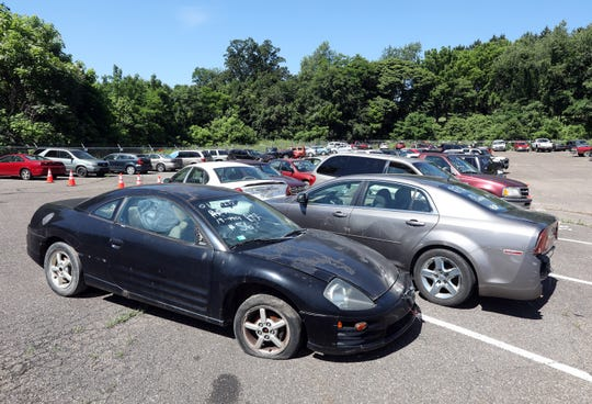 Zanesville Police Department will auction off more than 100 vehicles on Saturday, and nearly as many other forfeited items, like tools and household goods.