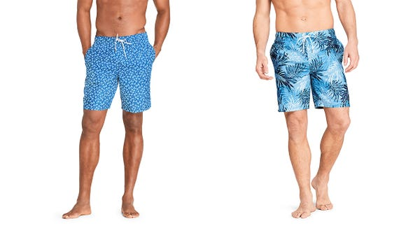 These trunks are resistant to color fading and UV rays.