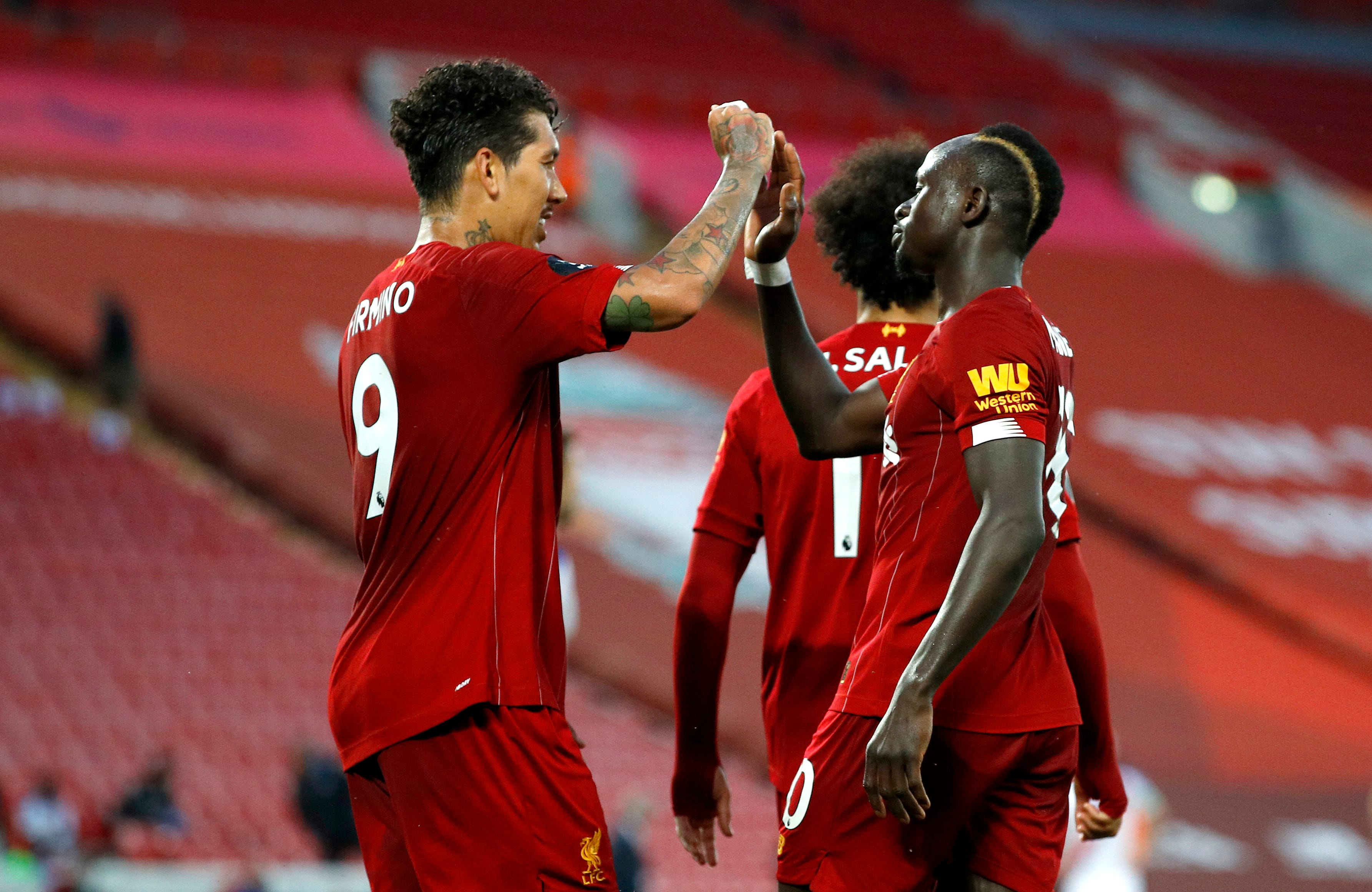 Liverpool clinches English Premier League, club's first domestic title since 1990
