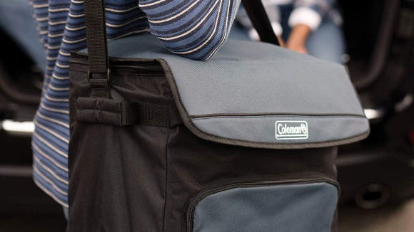 This portable cooler will keep goods cold for more than 24 hours.