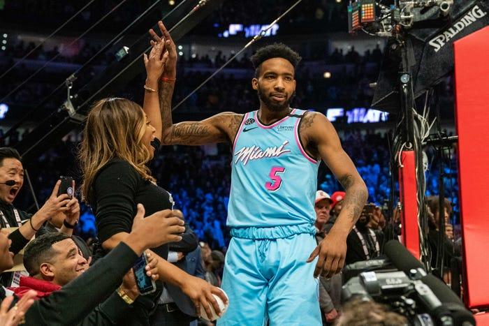 Miami Heat forward Derrick Jones Jr. tests positive for coronavirus
