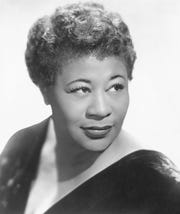 """Ella Fitzgerald, nicknamed the """"First Lady of Song,"""" was best known for songs including """"A-Tisket, A-Tasket"""" and """"Dream a Little Dream of Me."""""""