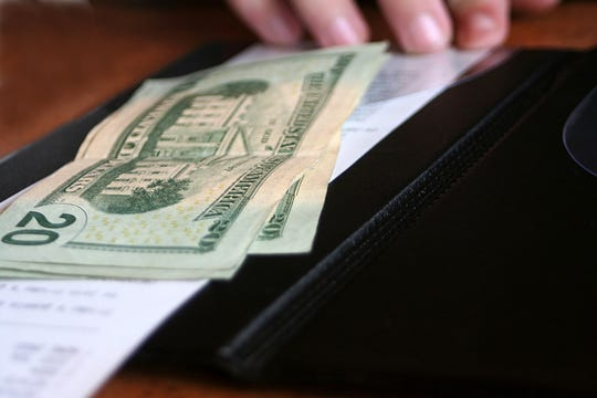 People who used to work in the service industry are the most likely to leave behind a big tip.