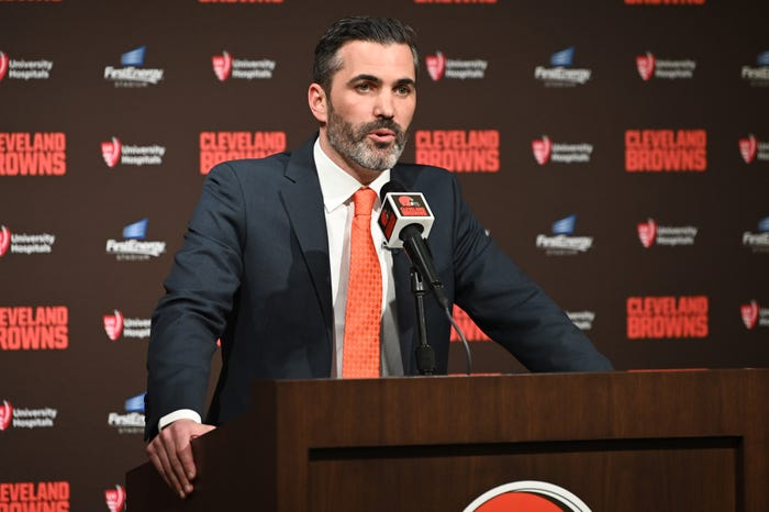 Browns coach Kevin Stefanski urges players to stay safe amid coronavirus pandemic