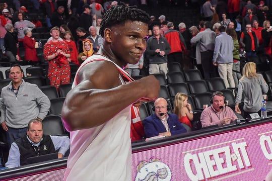Georgia's Anthony Edwards averaged 19.1 points per game last season.