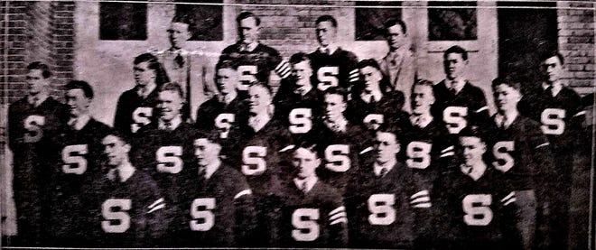 """The 1930 edition of the Shawnee football team established themselves as one of the top teams in the state, finishing at (8-1) on the season. It also garnered Shawnee High School's 100th victory in its history, raising its all-time mark to (100-86-19). Head Coach Ray LeCrone raised his three-year mark to (24-3-2). He was assisted by S.M. """"Buddy"""" Wilcoxson."""