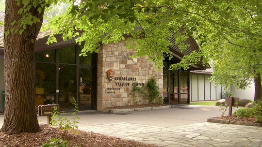The current Sugarlands Visitor Center was built in the Mission 66 era at a time when park visitation was between five and six million people.
