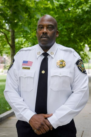 Buncombe County Sheriff Quentin Miller June 24, 2020.