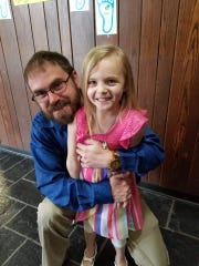 Jared Sowash hopes to start a Crestline girls golf team so that one day in the future his daughter Avalyn can be part of it.