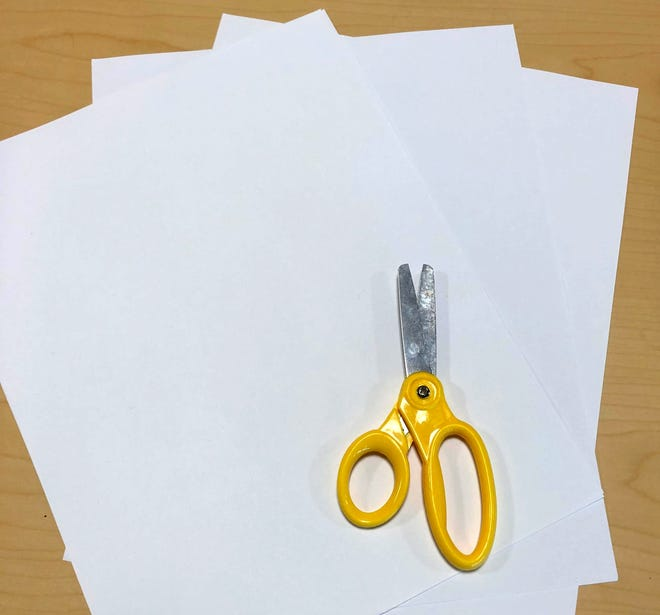 Paper and scissors are all you need for this experiment about Bernoulli's Principle! 6/25/20