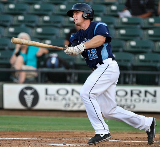 Max Stassi set a Hooks team record with eight RBI in 2013.