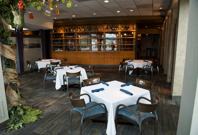 Caffe Aldo Lamberti will reopen its indoor dining rooms on July 2, with tables six feet apart, after closing them due to the COVID-19 shutdown.