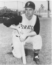 Harding 'Pete' Peterson played for the Pittsburgh Pirates