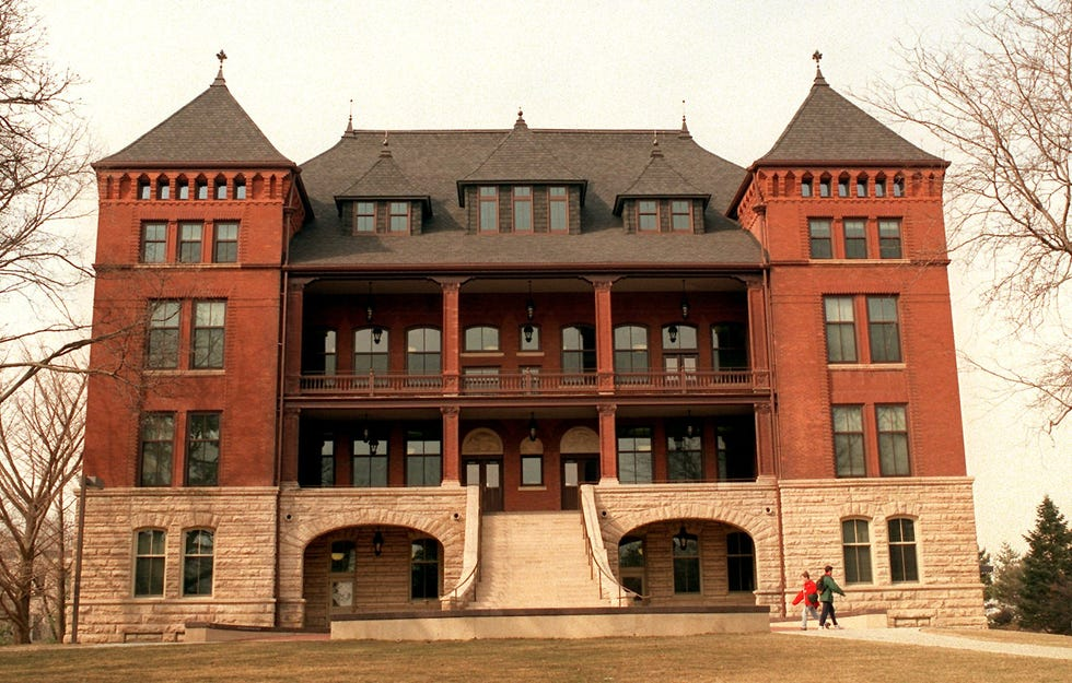 Carrie Chapman Catt Hall at Iowa State University is seen in 1996, not long after Old Botany was renamed for the suffragist.