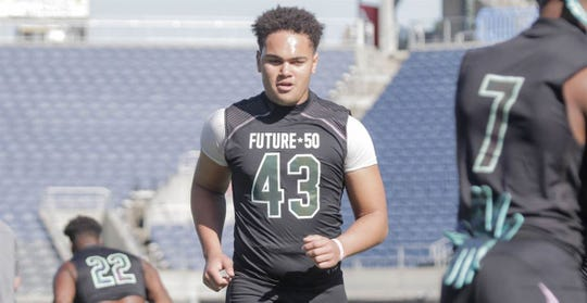 George Rooks remains on Michigan's radar despite already having landed verbal commitments from a number of defensive linemen.