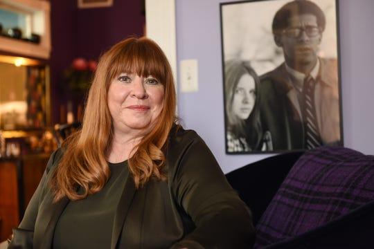 Sheila Cockrel inside her home in Detroit's Corktown.