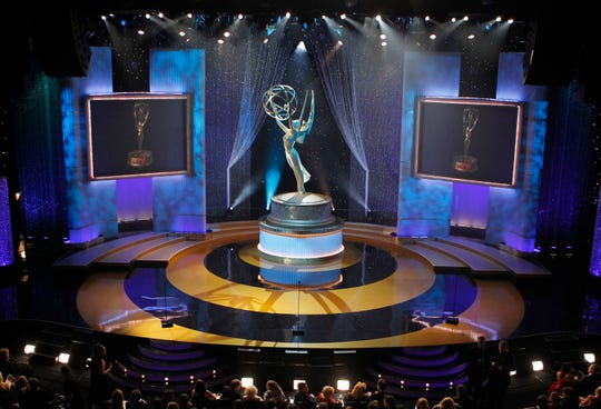 In this June 27, 2010 file photo, a view of the stage appears at the 37th annual Daytime Emmy Awards in Las Vegas. The 47th annual Daytime Emmy Awards will air on Friday, June 26 at 8 p.m.