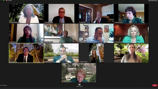Michigan State University Board of Trustees meeting held virtually Friday, June 26.