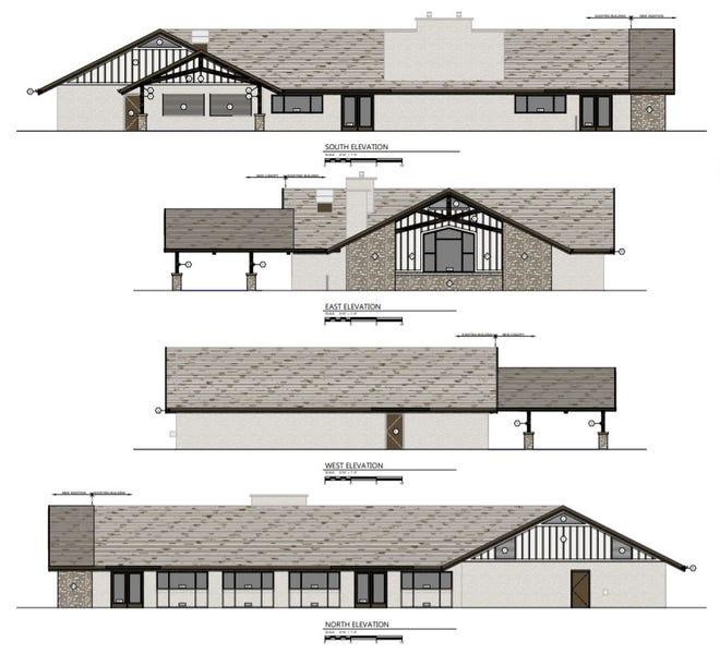 Lakeside Park pavilion concept design