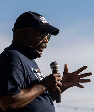 NAACP President Harrell Carter