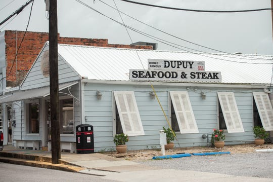 Dupuy Seafood and Steak restaurant in Abbeville, LA.
