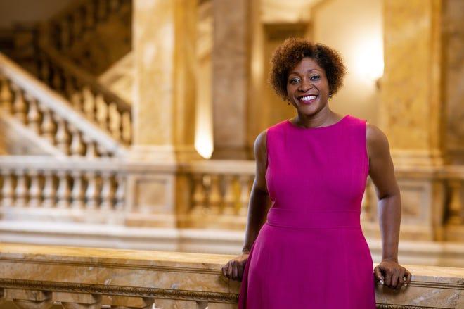 Dasha Kelly Hamilton is Milwaukee's Poet Laureate.