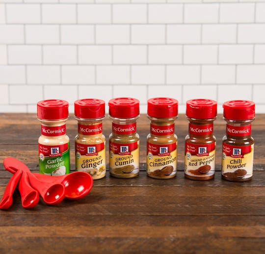 McCormick's list of must-have spices would be a good start for any home cook.
