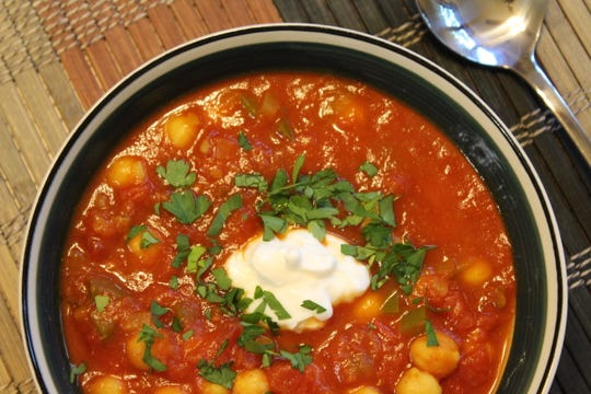 Moroccan Chickpea Stew delivers flavors of North Africa - and plenty of spices.