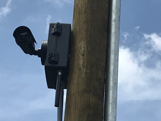A license plate recognition camera at Nonaville and Saundersville Road in Mt. Juliet.