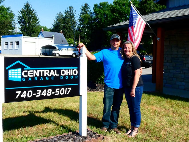 Brian and Amber Cramer moved their Central Ohio Garage Door business from Columbus to Newark in March, in the same location as the former Angeletti Overheard Door.