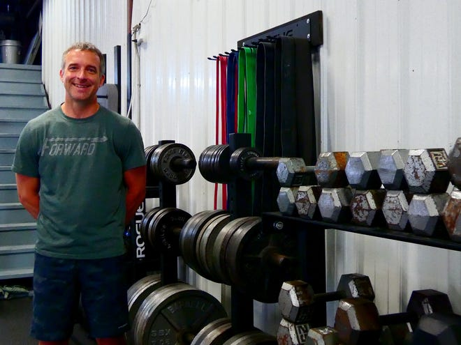 Craig McDonald's first client for physical training was his father and after founding Always Forward CrossFit he's been working to help people improve people's fitness from the businesses Granville location.