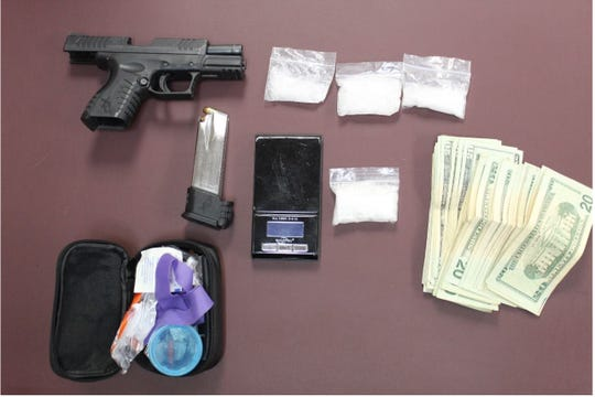 Pecos Valley Drug Task Force agents seized some contraband during a traffic stop June 24, 2020 south of Artesia.