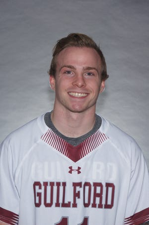Northville grad Brennan Sweeney earned the Nereus C. English '26 Athletic Leadership Award at Guilford College.